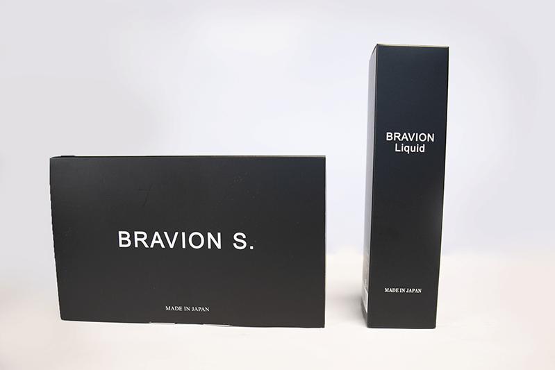 ブラビオンリキッド(BRAVION Liquid)はスタイリッシュな容器なので周囲の目が気にならない