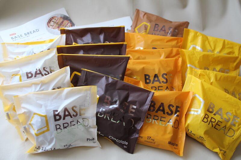 ベースフード(BASE FOOD)は常温で約1ヶ月間保存できるので管理が簡単