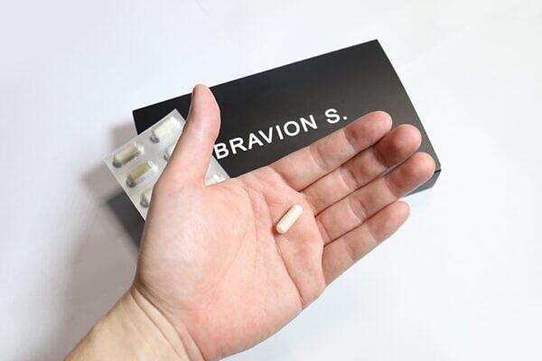 ブラビオンS(BRAVION S)は年配の方でもスムーズに飲めるサイズ