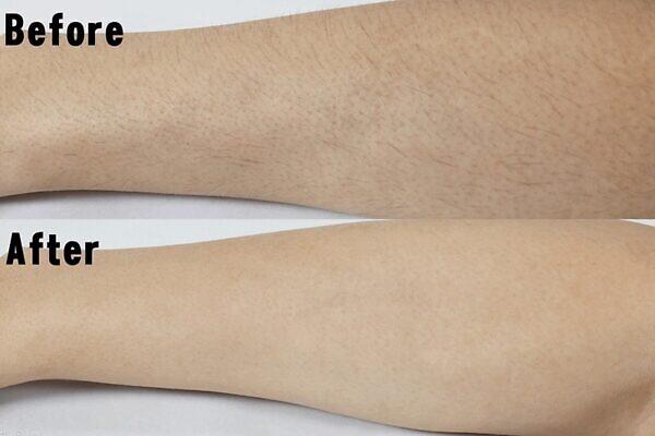 ミュゼコスメ 薬用ヘアリムーバルクリームはうぶ毛のような細い毛でもしっかり除毛