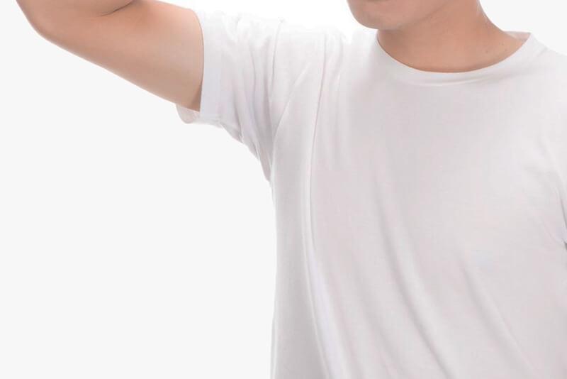 ラポマイン(lapomine)使用後は劇的に汗の量が減少!ワキだけじゃなく足もサラサラ